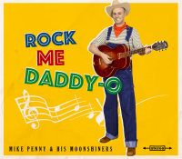 Mike Penny & his Moonshiners - Rock Me Daddy-O LP 10inch