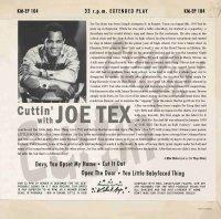 Joe Tex - Cuttin With Joe Tex EP