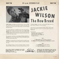 Jackie Wilson - The New Breed EP