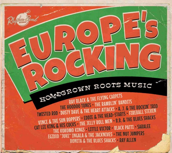 Europe's Rocking  CD (same tracks as Farewell Britain)
