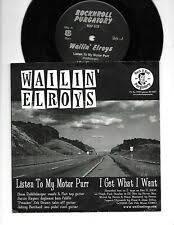 Wailin' Elroys / Ghostwriter EP 7inch RARE