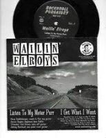 Wailin Elroys / Ghostwriter EP 7inch RARE