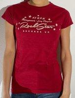 T-shirt Rockstar Records 45rpm Girlie