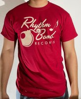 T-shirt Rhythm Bomb Records Old Logo Men