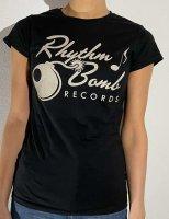 T-shirt Rhythm Bomb Records Old Logo Girlie