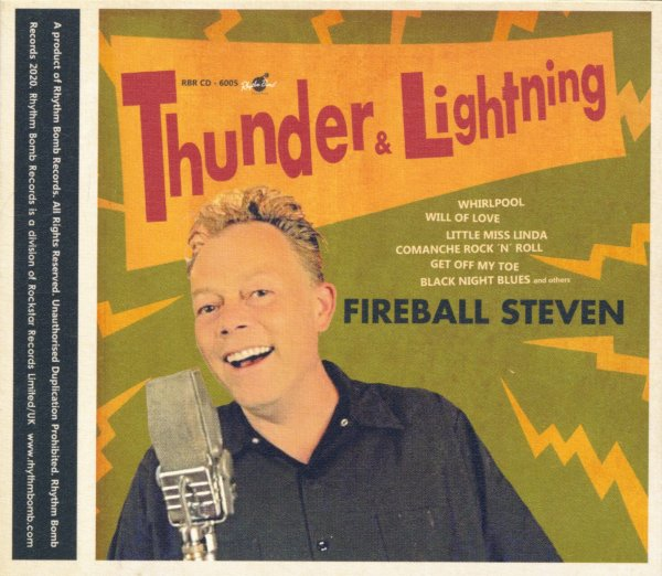 FIREBALL STEVEN - Thunder & Lightning CD