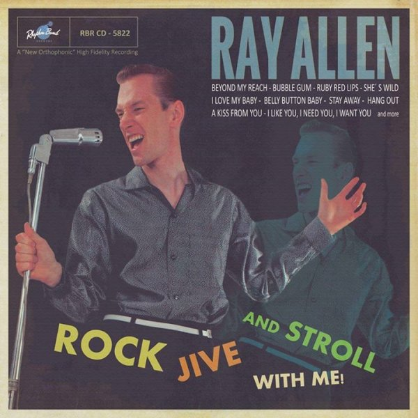 Ray Allen - Rock Jive And Stroll With Me LP DELETED
