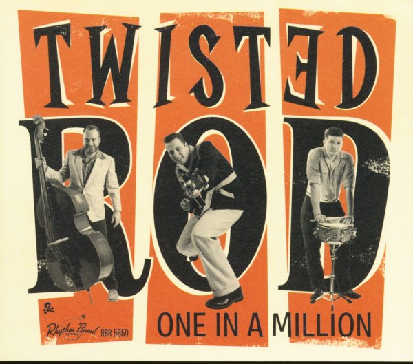Twisted Rod - One In A Million  CD