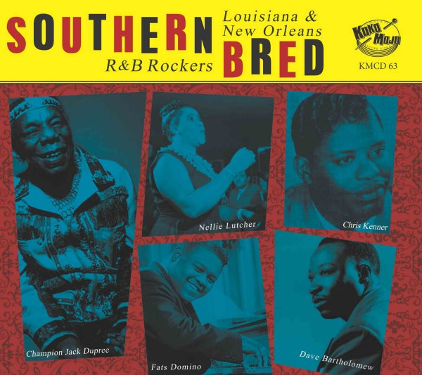 Southern Bred 13 Louisiana New Orleans R&B Rockers
