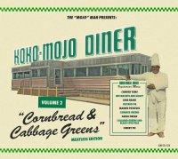 KOKO-MOJO DINER 2 Cornbread & Cabbage Greens