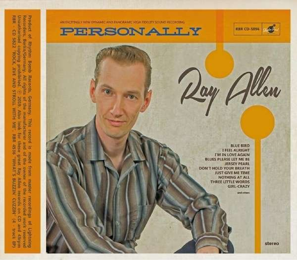 Ray Allen - Personally LP DELETED