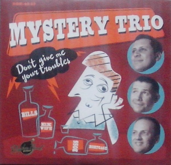 Mystery Trio 4 song EP 7inch