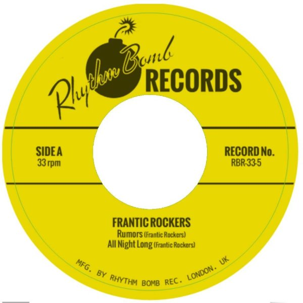 The Frantic Rockers EP 33rpm