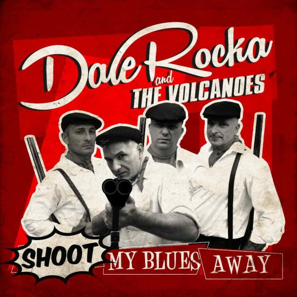 DALE ROCKA and the Volcanoes, 4track EP,  7inch, 45rpm