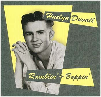 Huelyn Duvall with Wildfire Willie - Ramblin & Boppin LP 12inch last copies
