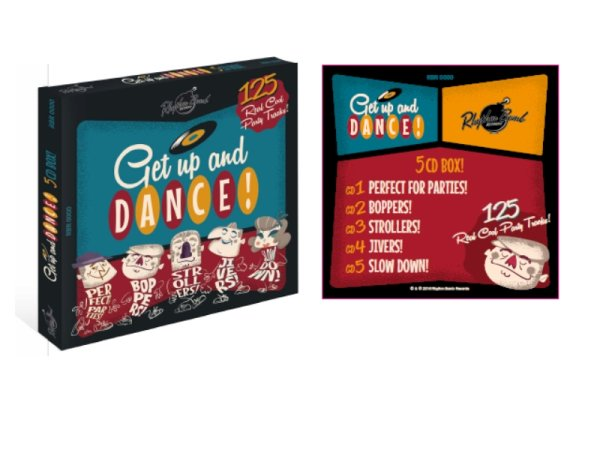 5 CD box set with 125 tracks. No fillers - only killers ! Dance Edition !